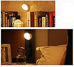 Светодиодный вращающийся светильник с датчиком движения, фото 4