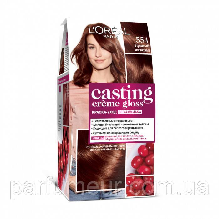 Фарба для волосся Loreal casting 554 Пряний шоколад