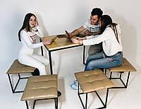 Пуфик трансормер 5в1 который розкладывается на 5 стульев