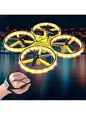 Квадрокоптер Управление с руки Tracker 001 на Браслете Детский дрон, фото 3