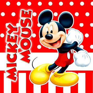 """""""Микки Маус: Красный"""" - Стаканчики 250 мл."""