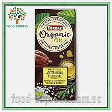 Шоколад Оливковое масло и морская соль Torras Organic, 100г