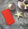 Чехол на iPhone XR матовый цветной силиконовый красный с защитой камеры, фото 2