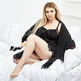 Жіноча піжама тепла м'яка тепла плюш домашній комплект розмір: 42, 44, 46, 48, 50, фото 4