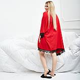 Жіноча піжама тепла м'яка тепла плюш домашній комплект розмір: 42, 44, 46, 48, 50, фото 3
