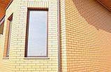 Кирпич клинкерный Керамейя Клинкерам  250x120x65 мм Янтарь Пр1 36%, фото 5