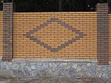 Кирпич клинкерный Керамейя Клинкерам  250x120x65 мм Янтарь Пр1 36%, фото 9