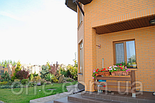 Кирпич клинкерный Керамейя Клинкерам  250x60x65 мм Янтарь Пр 1/2 28%, фото 3