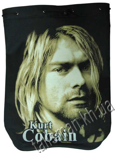 NIRVANA (K.Cobain)-2 - рок-рюкзак