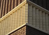 Кирпич клинкерный фасонный Керамейя Клинкерам  250x120x65 мм Оникс 36%, фото 3