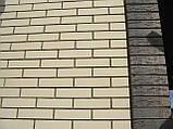 Кирпич клинкерный фасонный Керамейя Клинкерам  250x120x65 мм Жемчуг 36%, фото 10