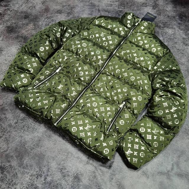 Мужская зимняя куртка пуховик Louis Vuitton
