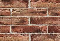 "Кирпич клинкерный ручной формовки S.Anselmo ""Selmo"" (rustic) Montenapoleone Bruciato"