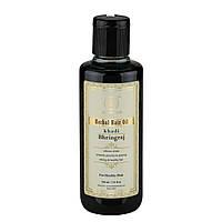 "Аюрведическое масло для волос ""Брингарадж"" 210 мл, Кхади Herbal hair oil Bringaraj 210 ml Khadi"