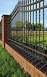 Клинкерная крышка на забор KingKlinker Полярная ночь (08) 310х310х80мм, фото 3