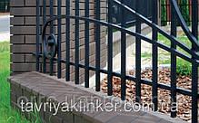 Парапет крышка клинкерная на забор Таинственный сад (05), фото 2