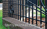 Парапет крышка клинкерная на забор Нота цинамона (06), фото 4