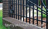 Парапет крышка клинкерная на забор Полярная ночь (08), фото 4