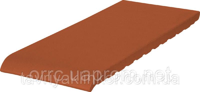 Подоконник отлив клинкерный King Klinker 150x120x15 (01) Рубиновый красный