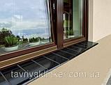 """Подоконник отлив клинкерный King Klinker 150x120x15 (03) """"Коричневый натура"""", фото 3"""