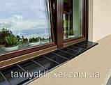 Подоконник отлив клинкерный King Klinker 150x120x15 (07) Кармазиновый остров, фото 3