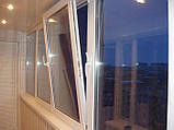 Поворотно-откидное трехчастное окно VIGRAND 3 кам 2100*1400, фото 3