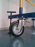Вишка тура риштування на колесах 1.7 х 0.8 (м) 5+1, фото 5