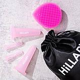 Набор вакуумных банок для массажа лица Hillary + Аргановое масло, фото 3