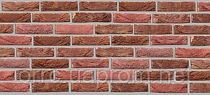 Плитка керамічна ручного формування Вишневий 250х20х65, фото 2