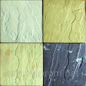 "Тротуарная плитка брусчатка ""Сланец"" (5 фактур) 300х300х30, фото 2"