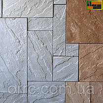 "Тротуарная плитка брусчатка ""Сланец"" (5 фактур) 300х300х30, фото 3"