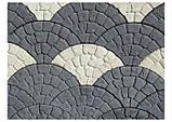 """Тротуарная плитка """"Веер"""" (3 фактуры) 400*230*30, фото 3"""