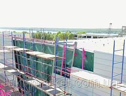 Будівельні ліси клино-хомутові комплектація 20.0 х 21.0 (м)