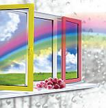 "Поворотно-откидное окно из ""холодного"" алюминия, двухстор. покраска RAL, Lorenzoline 40C, 1300*1400, фото 6"