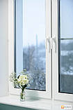 Двухчастное поворотно-откидное окно Aluplast 2000 (5 кам) 1300*1400, фото 4