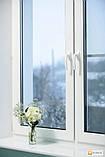 Двухчастное поворотно-откидное окно Aluplast Ideal 4000 (5 кам) 1300*1400, фото 5