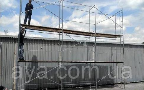 Рамні будівельні риштування комплектація 10 х 12 (м)