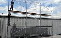 Рамні будівельні риштування комплектація 10 х 12 (м), фото 1