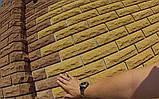 """Облицовочный кирпич Литос """"Скала""""  стандарт  пустотелый 250*120*65 Желтый (Слоновая кость), фото 4"""