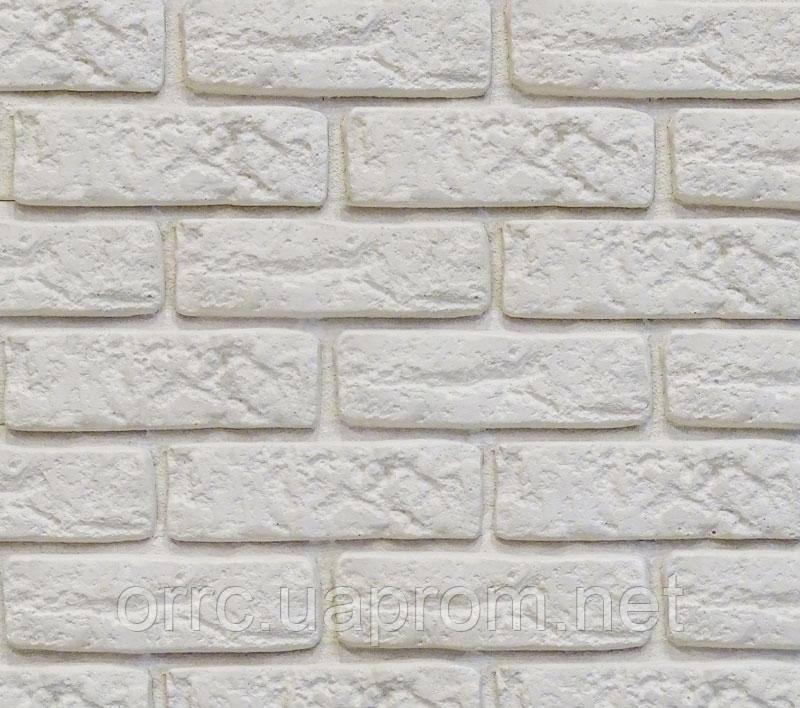 Декоративный камень Decor Brick Off-White (сегменты со швом)