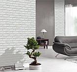 Декоративный камень Decor Brick Off-White (сегменты со швом), фото 2