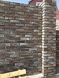 Кирпич клинкерный Керамейя Клинкерам 250x120x65мм Рустика Рутил 6 Пр1 36% без торкрета(без посыпки), фото 8
