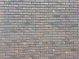 Кирпич клинкерный Керамейя КлинКерам 250x120x65мм Рустика Графит 6 Пр1 36% без торкрета(без посыпки), фото 4
