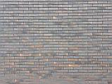 Кирпич клинкерный Керамейя КлинКерам 250x120x65мм Рустика Графит 6 Пр1 36% без торкрета(без посыпки), фото 5