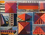 "Крышка на забор бетонная Мегалит ""Пирамида"" 595х595х75 мм, фото 3"