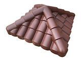 """Крышка на забор бетонная Мегалит """"Адриатика"""" 620х620х250 мм, фото 3"""