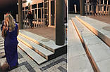 Бетонные фасадные ступени Мегалит 345х345х30, фото 2