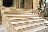 Бетонные фасадные ступени Мегалит 345х345х30, фото 3