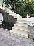 Бетонные фасадные ступени Мегалит 345х345х30, фото 4