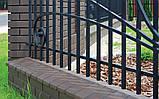 Клинкерная крышка на забор KingKlinker Коричневый (03) 445х585х106мм, фото 3